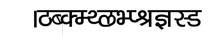 Kruti Dev 040  Bold Font UPPERCASE