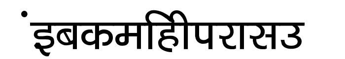 Kruti Dev 040  Bold Font LOWERCASE