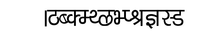Kruti Dev 040  Thin Font UPPERCASE