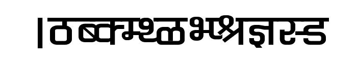 Kruti Dev 060 Wide Font UPPERCASE