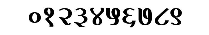 Kruti Dev 100  Bold Font OTHER CHARS