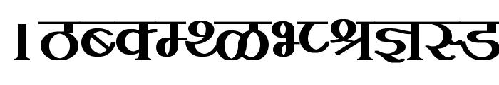 Kruti Dev 100  Bold Font UPPERCASE