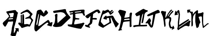 Krylon Gothic Font LOWERCASE