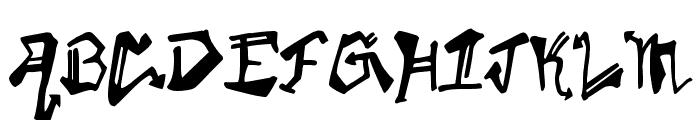 KrylonGothic Font UPPERCASE