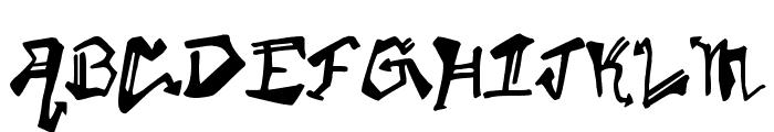 KrylonGothic Font LOWERCASE