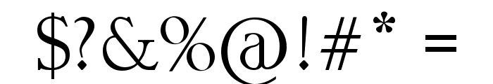kristall Font OTHER CHARS
