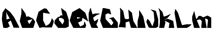 kristall Font LOWERCASE