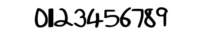 kristenshandBold Font OTHER CHARS