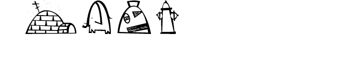 Krome Ampers and Domes Font OTHER CHARS