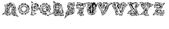 Kryptonite Bizarro Font UPPERCASE