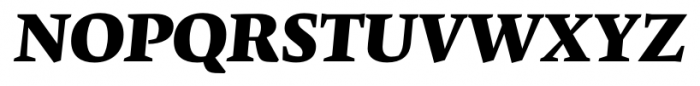 Krete Black Italic Font UPPERCASE