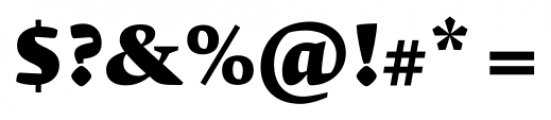 Krete Black Font OTHER CHARS