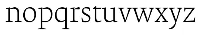 Krete Light Font LOWERCASE