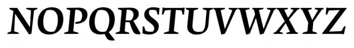 Krete Medium Italic Font UPPERCASE