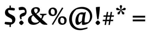 Krete Medium Font OTHER CHARS
