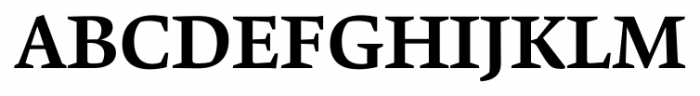 Krete Medium Font UPPERCASE