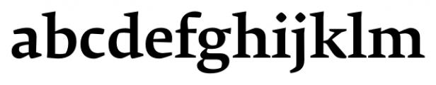 Krete Medium Font LOWERCASE