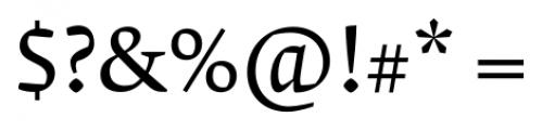 Krete Regular Font OTHER CHARS