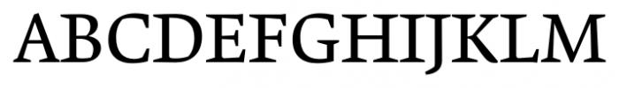 Krete Regular Font UPPERCASE