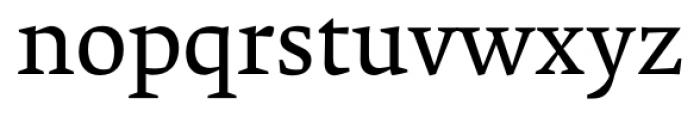 Krete Regular Font LOWERCASE