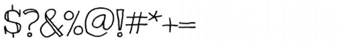 Kranky Pro Font OTHER CHARS