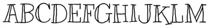 Kranky Pro Font UPPERCASE