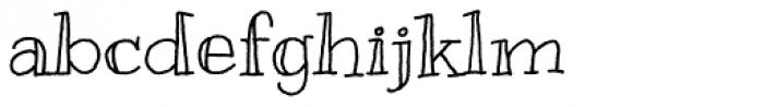 Kranky Pro Font LOWERCASE
