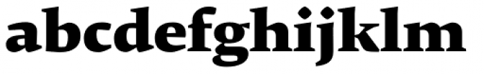 Krete Black Font LOWERCASE