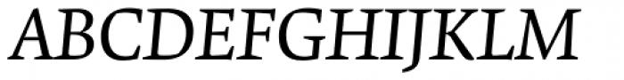 Krete Italic Font UPPERCASE