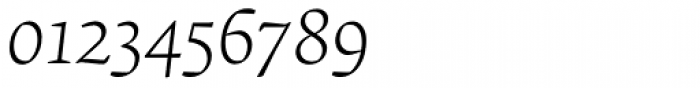Krete Light Italic Font OTHER CHARS
