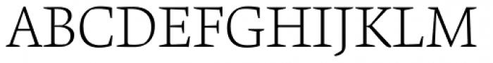 Krete Light Font UPPERCASE