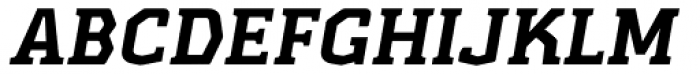 Kridpages Black Italic Font UPPERCASE