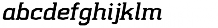 Kridpages Bold Italic Font LOWERCASE