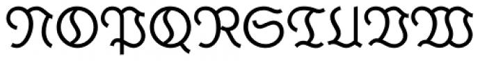 Krimhilde A Display Fill Regular Font UPPERCASE