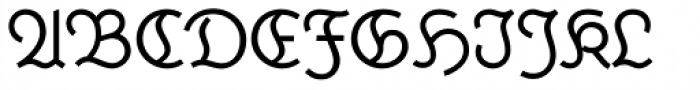 Krimhilde A Regular Font UPPERCASE