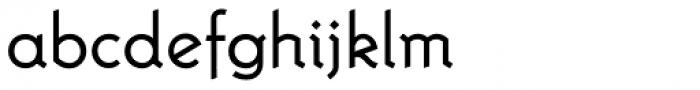 Krimhilde A Regular Font LOWERCASE