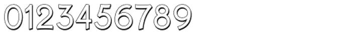 Krimhilde B Display Shadow Regular Font OTHER CHARS