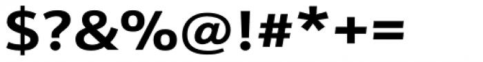 Kronos Sans ME Expand Bold Font OTHER CHARS