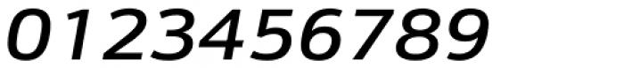 Kronos Sans ME Expand Medium Italic Font OTHER CHARS