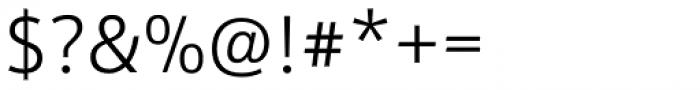 Kronos Sans ME Light Font OTHER CHARS