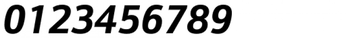 Kronos Sans Pro Bold Italic Font OTHER CHARS