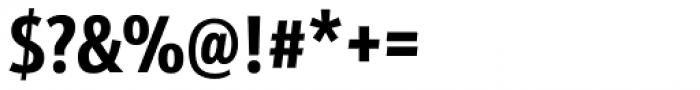 Kronos Sans Pro Compressed Bold Font OTHER CHARS