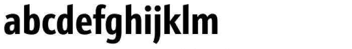 Kronos Sans Pro Compressed Bold Font LOWERCASE