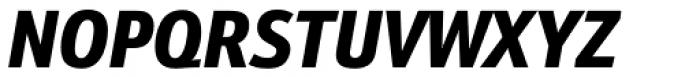 Kronos Sans Pro Condensed Black Italic Font UPPERCASE