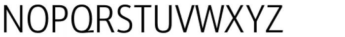 Kronos Sans Pro Condensed Light Font UPPERCASE