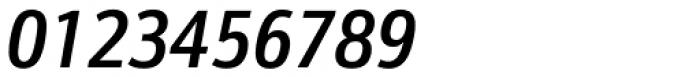 Kronos Sans Pro Condensed Medium Italic Font OTHER CHARS