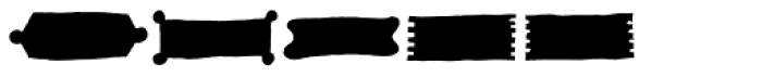 Kropicania Stuff Font LOWERCASE