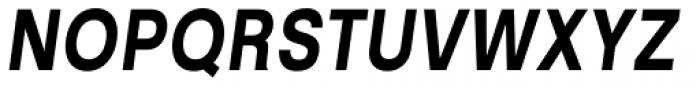 Kropotkin Std 34 Condensed Bold Oblique Font UPPERCASE