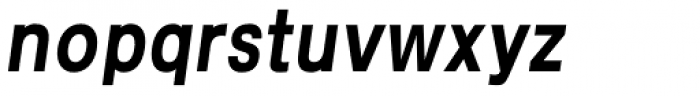Kropotkin Std 34 Condensed Bold Oblique Font LOWERCASE