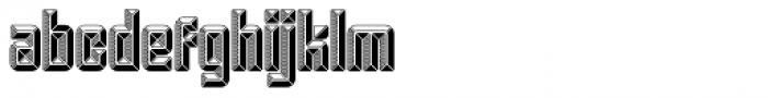 Krown Gold Font LOWERCASE